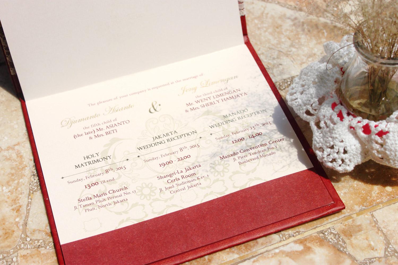 Desain Undangan Pernikahan Djumanto & Jeny - The Hummingbird Design