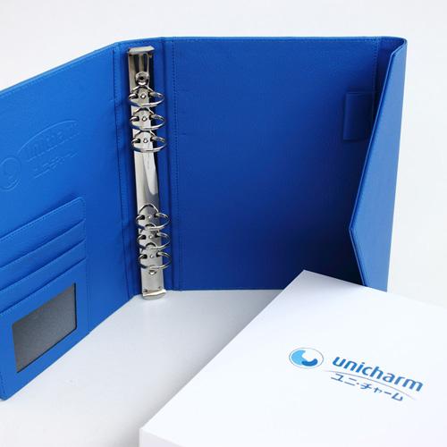 'Unicharm'-Agenda-Leather-Cover-Production-Portfolio-Featured-nw