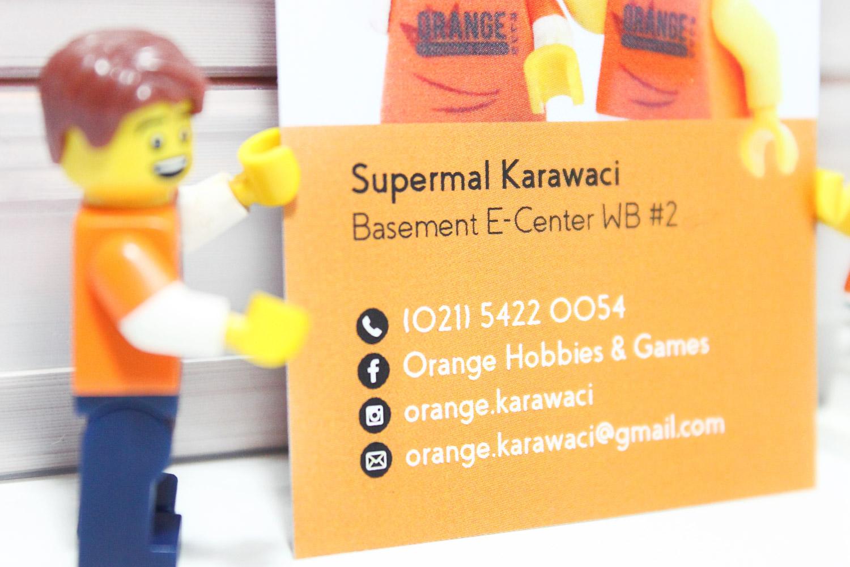 Desain & Printing Kartu Nama \'Orange Hobbies & Games\' - The ...